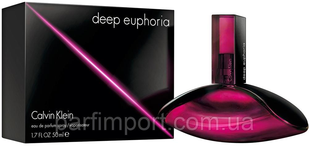 CALVIN KLEIN Euphoria DEEP edp 50 ml  парфумированная вода женская (оригинал подлинник  Франция)