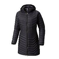 Женская куртка-пальто Columbia  POWDER LITE™ MID JACKET черная WK0034 010