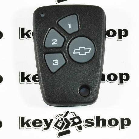 Оригинальный пульт для Chevrolet (Шевролет) 4 - кнопки,  434 MHz, фото 2