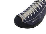Обувь для туризма Scarpa Mojito GTX синие кроссовки с мембраной повседневные, фото 3