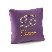 Подушка подарочная гороскоп «Рак» флок