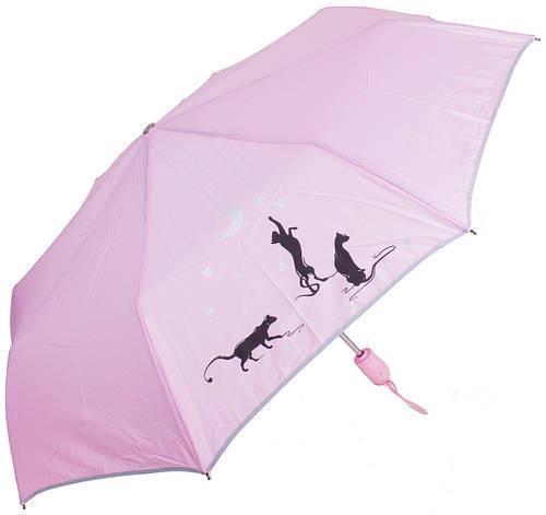 Женственный зонт-автомат AIRTON Z3912-2256, цвет розовый