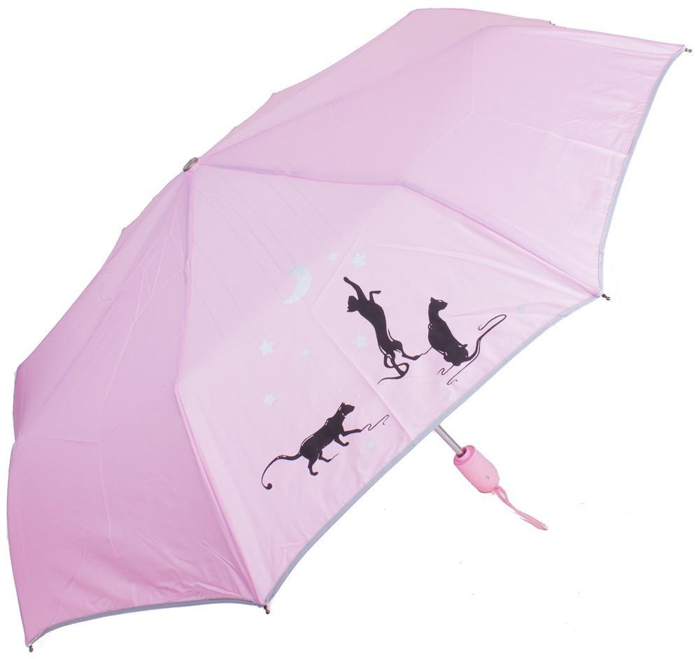 Женский зонт AIRTON Z3912-2256, автомат, розовый