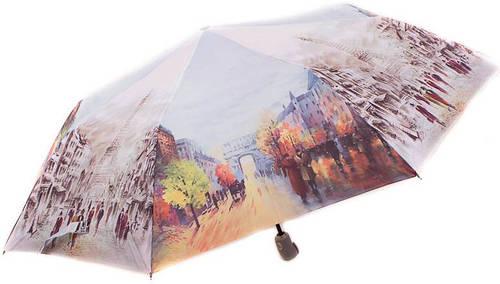Женский зонт с ярким рисунком, полный автомат, антиветер ZEST Z23945-11