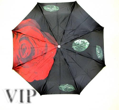 Зонт женский полный автомат Doppler VIP COLLECTION 34521 Роза, антиветер. РУЧНАЯ СБОРКА!
