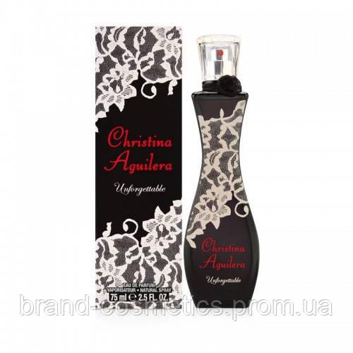 Женская парфюмированная вода Christina Aguilera Unforgettable  75 мл