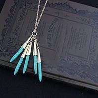 Ожерелье на длинной цепочке Стрелы, фото 1