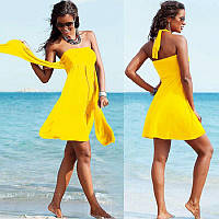 Пляжное платье с завязкой на спине РМ7034