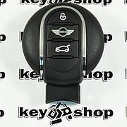 Оригинальный смарт ключ Mini (Мини) 3 кнопки, ID49 (PCF7953V) 315MHz