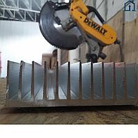 Порезка алюминиевого радиатора в размер (размеры пишите в комментарии к заказу)