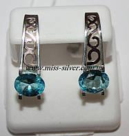 Серьги серебро Винтаж, фото 1