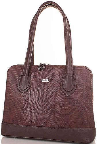 Оригинальная женская сумка из качественного кожезаменителя ETERNO (ЭТЕРНО) ETMS3515510-brown (коричневый)