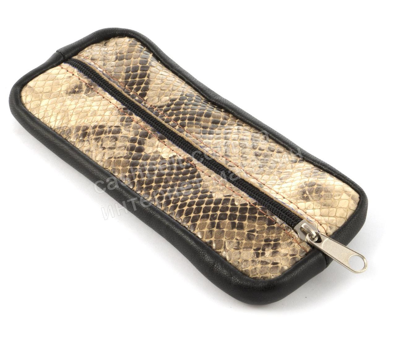 Стильна шкіряна ключниця з натуральної шкіри ручної роботи art. (101470)