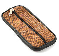 Стильная кожаная ключница с натуральной кожи ручной работы art.  (101506), фото 1