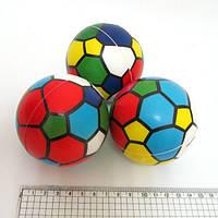"""Мяч резиновый мягкий """"Витраж"""" 7,6см"""