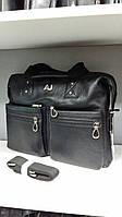 Мужские кожаные сумки Чемодан