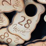 Гардеробные номерки из дерева, фото 3