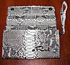 Женский клатч-кошелек из кожи питона, фото 4