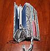 Женский клатч-кошелек из кожи питона, фото 5