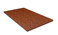 Кокосовая койра толщина 1 см размер 180х200 (латексация 85/15)