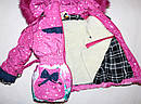 Теплый зимний комбинезон+куртка 28 размер, фото 3