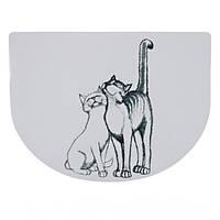 Trixie (Трикси) PUSSY CAT 40х30см - коврик под миску для кошек