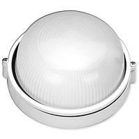 Светильник «круг» 60W без решетки белый