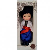 Кукла Мальчик Украинець35 см в национальном костюме В219/4Украина в красивой подарочной коробке
