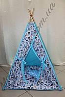 """Детский игровой домик, вигвам, палатка, шатер, шалаш, вігвам, дитячий будинок, палатка """"Индейцы"""", фото 1"""