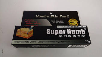 Крем-анестетик Super Numb (усиленная формула), 30гр