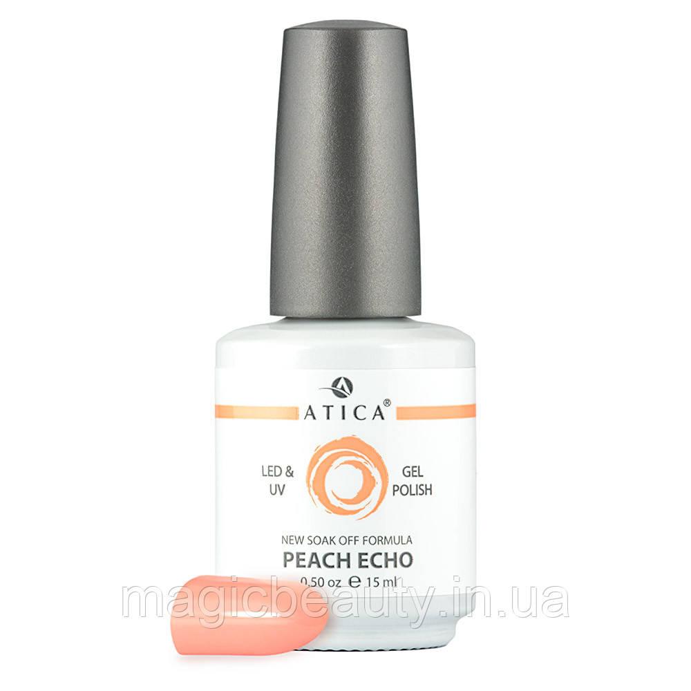 Гель-лак Atica Peach Echo 61, 7,5 мл