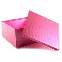 Подарочная коробка Розовый Металлик 22 x 12 x 22 см