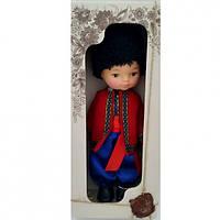 Кукла Мальчик Украинець35 см в национальном костюме B220/3Украина в красивой подарочной коробке.