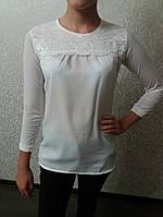 Блуза школьная на девочек 423