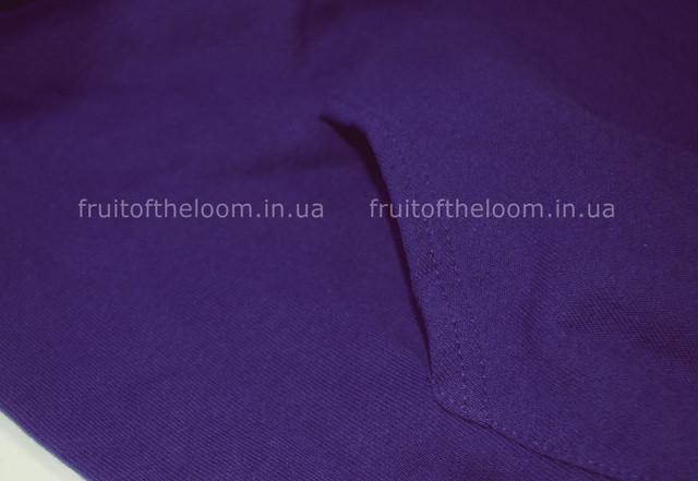 Фиолетовая  детская классическая толстовка с капюшоном