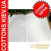 Полотенце белое 50*90 фирмы Hanibaba