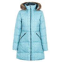 Куртка Коламбия женская VARALUCK™ MID HOODED DOWN JACKET бирюзовая WL0026 336
