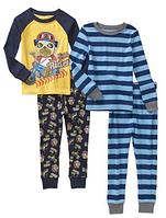 Комплект пижам для мальчика 2-4 года
