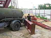 Выкачка ям - Выкачка выгребных ям. Выкачка сливной ямы. Откачка канализации в Киеве.