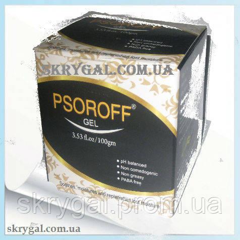 """Псориаз, гель """"PSOROFF - гель(100г) при кожных заболеваниях"""