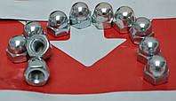 Гайки колпачковые М5 DIN 1587 из стали А4