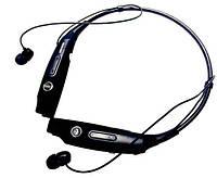 Черные беспроводные спортивные Bluetooth стерео наушники Samsung HBS-730S с микрофоном