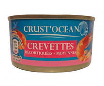 Креветки Crust Ocean Crevettes, 200 г (Франция)