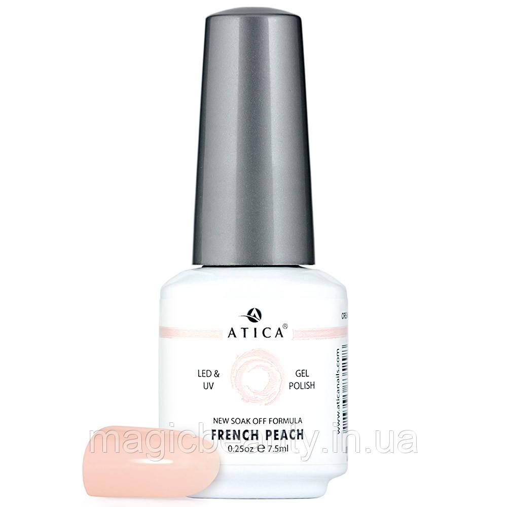 Гель-лак Atica French Peach 89, 7,5 мл
