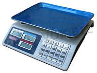 🔥✅ Торговые электронные весы Спартак CK-982S от 5 гр до 50 кг Metal Button с металлическими кнопками