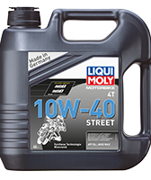 Масло для 4-тактных двигателей - Motorbike 4T 10W-40 Street 4л