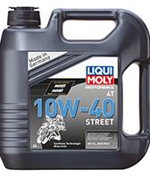Масло для 4-тактних двигунів - Motorbike 4T 10W-40 Street 4л