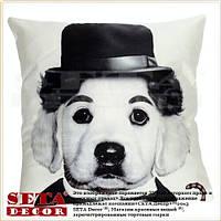 Наволочка Dog Charlie 43х43 см декоративная
