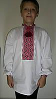 Рубашка детская, мальчик. 12-14 лет.