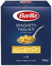 Макаронные изделия Barilla Spaghetti Tagliati n.38 500 g, фото 2